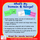 What's My Domain and Range?