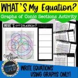 What's My Equation? Conic Sections; Algebra 2, Circles, El