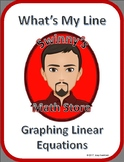 What's My Line: Graphing Linear Equations