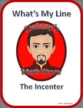 What's My Line: The Incenter