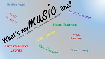 What's My Music Line?
