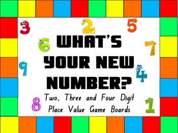 Place Value Game- What's Your New Number?