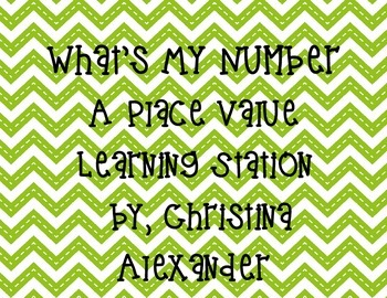 What's My Number Place Value