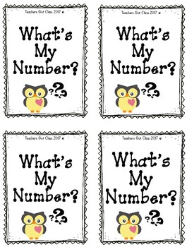 What's My Number? addition/multiplication math game