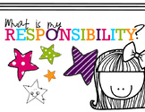 Character Education What's My Responsibility