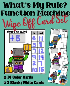 What's My Rule – Function Machines Cards Set