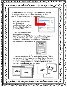 What's My Rule? Let's Graph It: Spelling Rules Sort & Graphing Activity