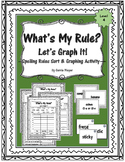 What's My Rule? Let's Graph It: Spelling Rules Sort & Graphing: Level 4
