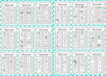 Beginning Sounds Printable Worksheet Pack - Kindergarten Phonics