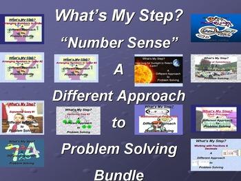 What's My Step? Number Sense Bundle