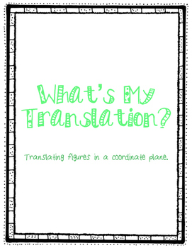 What's My Translation?