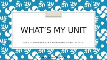 What's My Unit
