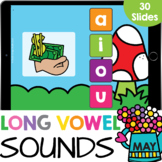 What's My Vowel CVCe Words Long Vowel Sounds Kindergarten