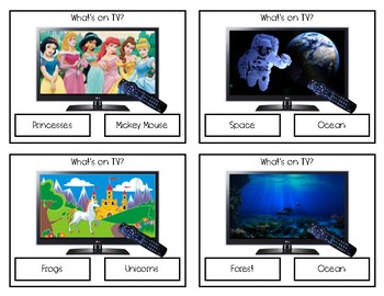 What's On TV? Clip Cards