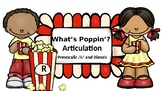 What's Poppin'? Articulation: Prevocalic /r/ and /r/ Blends