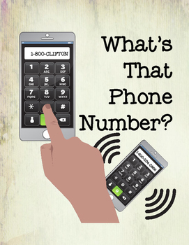 What's That Phone Number? Matching Tasks