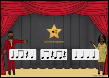 What's That Rhythm! Standard Notation BUNDLE - BOOM Cards