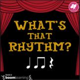 Music Distance Learning: What's That Rhythm? Ta Titi/Tadi