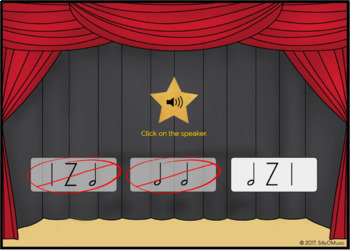 What's That Rhythm? STICK NOTATION BUNDLE - BOOM Cards