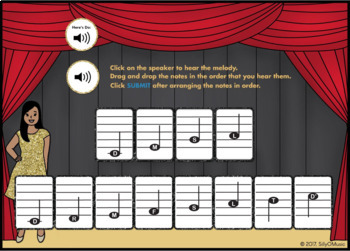 What's That Solfege? C Major Scale (Drag & Drop Music Assessment) BOOM Cards