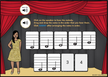 What's That Solfege? C Pentatonic (Drag & Drop Music Assessment) BOOM Cards