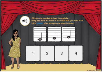 What's That Solfege? DO-RE-MI (Drag & Drop Music Assessment) BOOM Cards