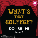 What's That Solfege? DO RE MI (Key of F) Melodic Dictation - Music BOOM Cards