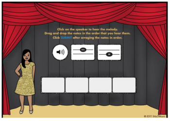 What's That Solfege? SOL -MI (Drag & Drop Music Assessment) BOOM Cards