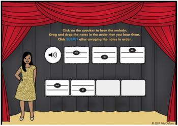 What's That Solfege? SOL-MI-LA (Drag & Drop Music Assessment) BOOM Cards