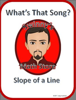 What's That Song: Slope of a Line