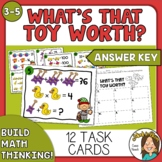 What's That Toy Worth? Christmas Math Activity - Logic Pic