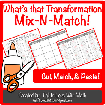 What's That Transformation Mix-N-Match!