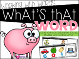 What's That Word {A Working With Words Center}