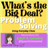 What's The Big Deal? Problem Solving with Dressing and Gro