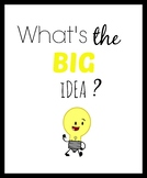 What's The Big Idea Poster
