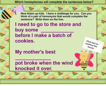 What's The Buzz About Homophones?