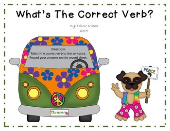What's The Correct Verb?
