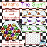 Addition & Subtraction Gumdrops