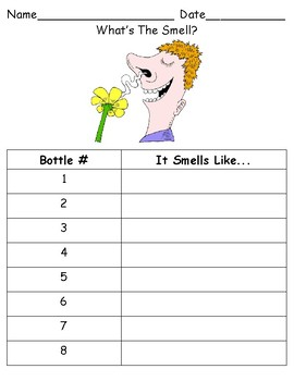 What's The Smell? (Sensory Guessing Game)