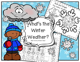 What's The Winter Weather? Literacy, Math and Science Fun