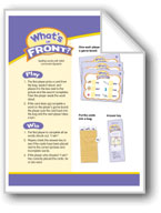 What's Up Front? (Initial Consonant Digraphs: Phonics Games)