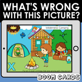 What's Wrong with this Picture?  Adventure Kids Boom Cards