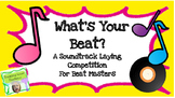 What's Your Beat? A Sound STEM Activity