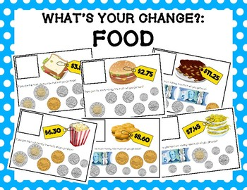 What's Your Change?: Food