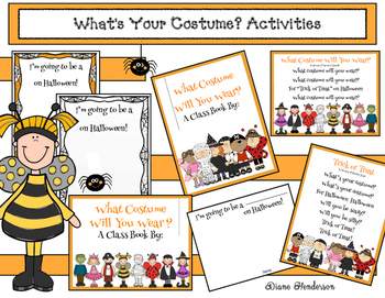 What's Your Costume? Class Book & Songs