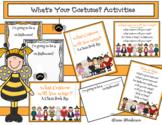 "Halloween Activities: ""What's Your Costume?"" Class Book & Songs"