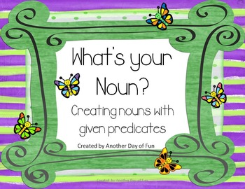 What's Your Noun?