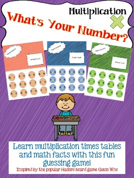 What's Your Number?- Multiplication