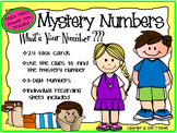 What's Your Number Mystery Numbers Place Value Task Card Activity Set