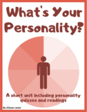 What's Your Personality?: Personality Quizzes and Readings